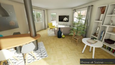 Appartement T5 123m² - 1