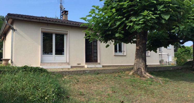 Maison 91m² sur 1018m² de terrain - Montmerle-sur-Saône (01090)