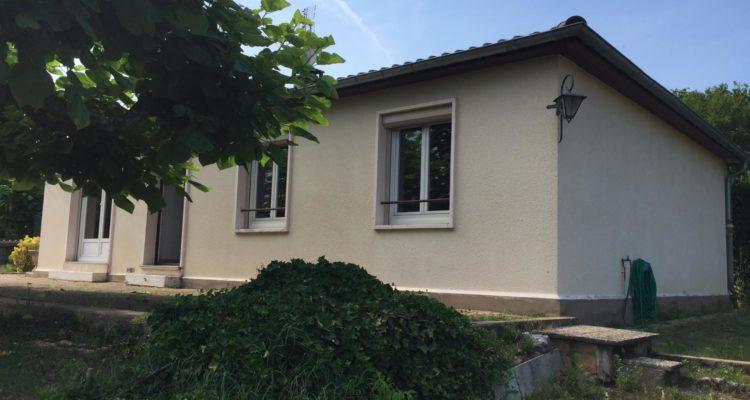 Maison 91m² sur 1018m² de terrain - Montmerle-sur-Saône (01090) - 1