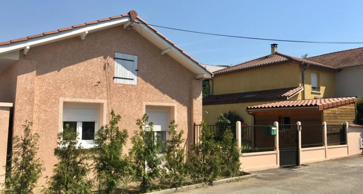 Maison 75m² sur 312m² de terrain - Décines-Charpieu (69150)