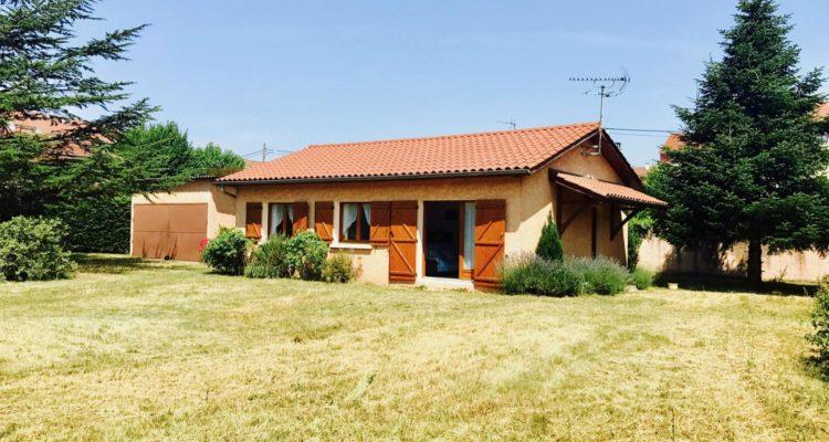Maison 80m² sur 1000m² de terrain - Décines-Charpieu (69150)