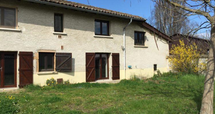 Maison 140m² sur 440m² de terrain - Fareins (01480)
