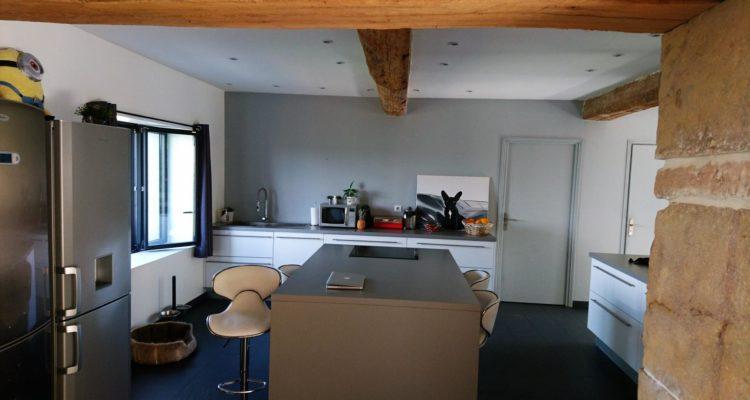 Maison 210m² sur 710m² de terrain - Lachassagne (69480) - 2