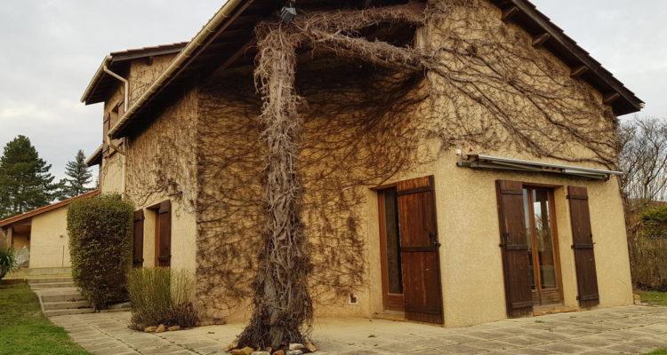 Maison 124m² sur 600m² de terrain - Anse (69480)
