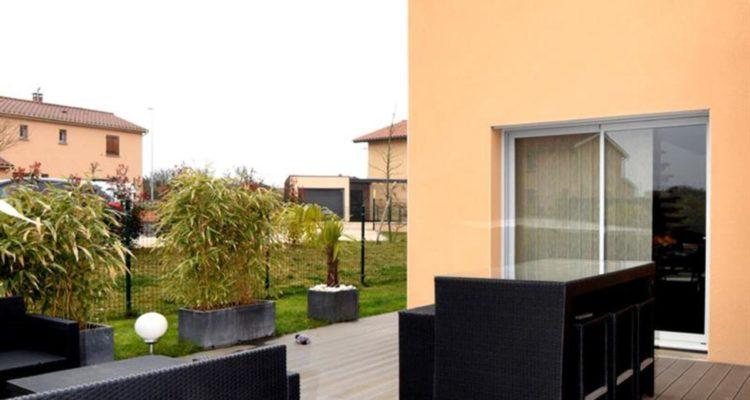 Maison 112m² sur 335m² de terrain - Montanay (69250) - 1