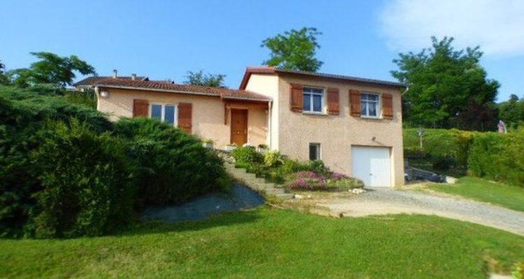 Maison 91m² sur 1070m² de terrain - Belleville (69220)