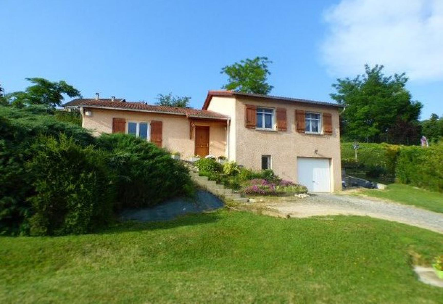 Vente maison belleville maison 91m sur 1070m de - Horaire piscine belleville sur saone ...