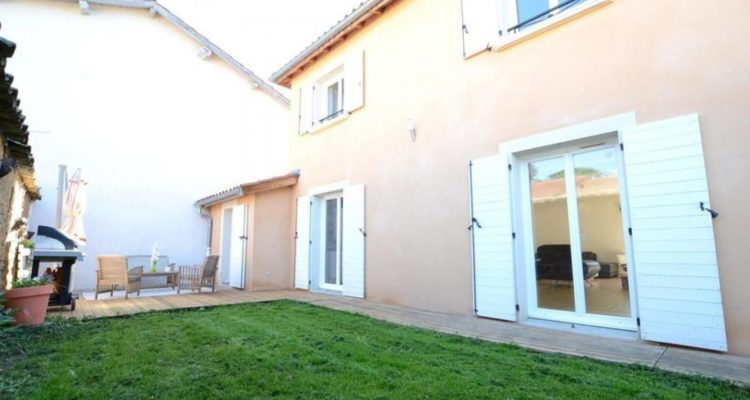 Maison 130m² sur 616m² de terrain - Jassans-Riottier (01480) - 1