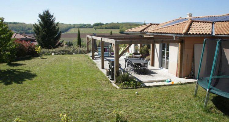 Maison 167m² sur 1010m² de terrain - Lachassagne (69480)