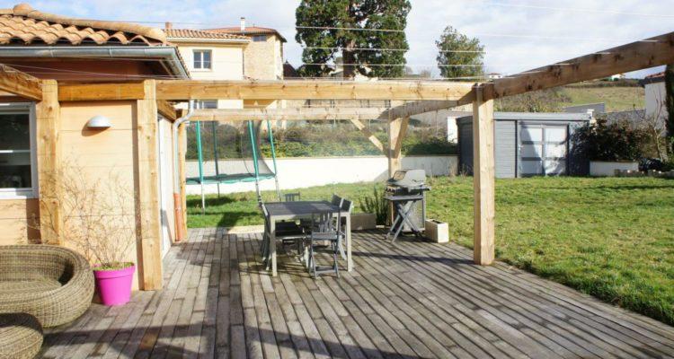 Maison 167m² sur 1010m² de terrain - Lachassagne (69480) - 19