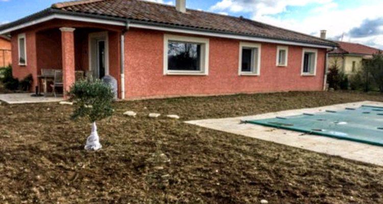 Maison 110m² sur 1000m² de terrain - Montmerle-sur-Saône (01090)