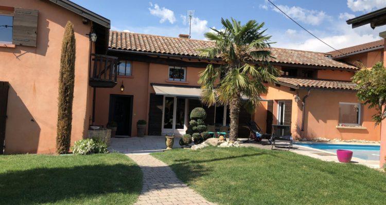Maison 240m² sur 600m² de terrain - Fareins (01480)