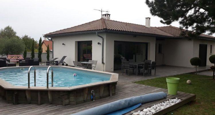 Maison 115m² sur 1380m² de terrain - Solaize (69360) - 2
