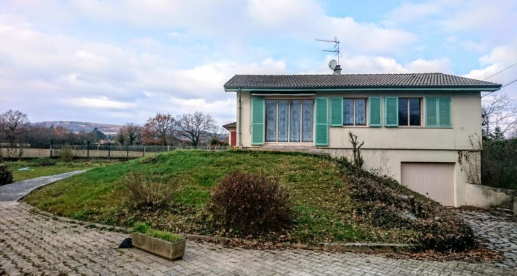 Maison 84m² sur 803m² de terrain - Morancé (69480)