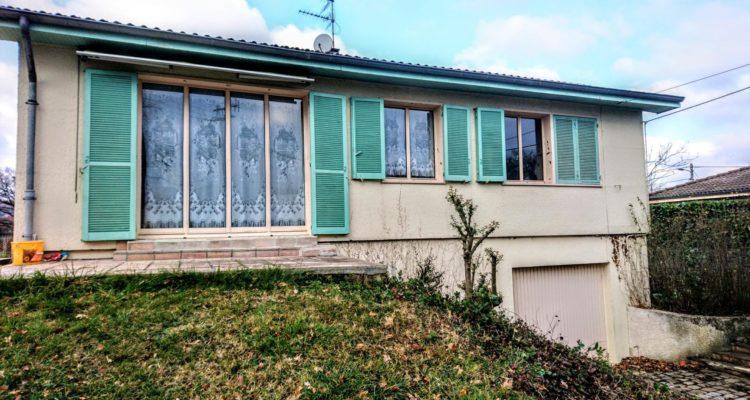 Maison 84m² sur 803m² de terrain - Morancé (69480) - 2