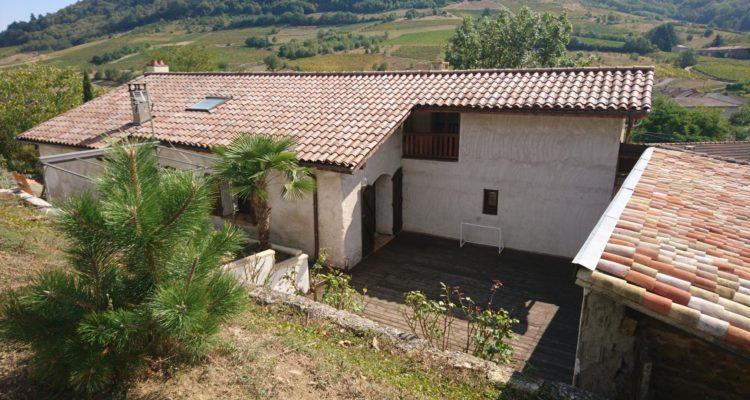 Maison 139m² sur 2184m² de terrain - Vaux-en-Beaujolais (69460) - 2