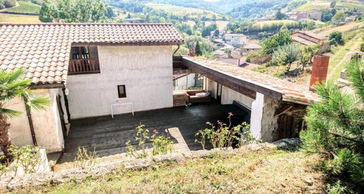 Maison 139m² sur 2184m² de terrain - Vaux-en-Beaujolais (69460) - 7