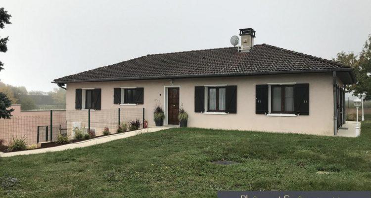 Maison 120m² sur 1100m² de terrain - Irigny (69540)