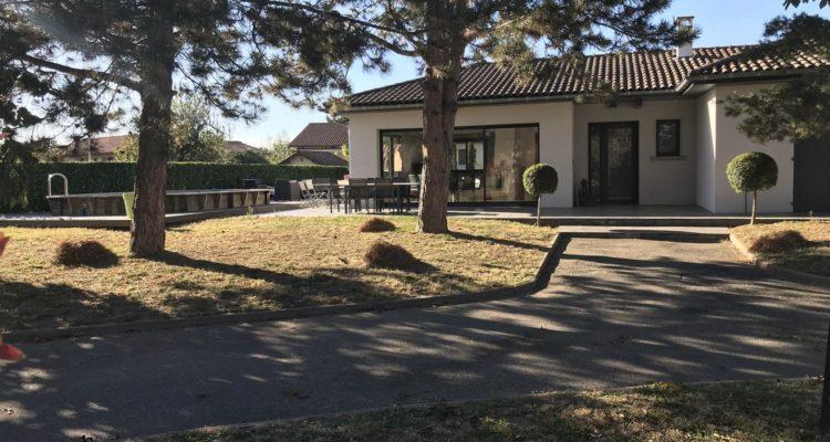 Maison 115m² sur 1380m² de terrain - Solaize (69360)