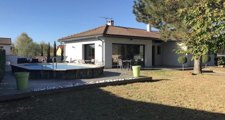 Maison 115m² sur 1380m² de terrain - Solaize (69360) - 1