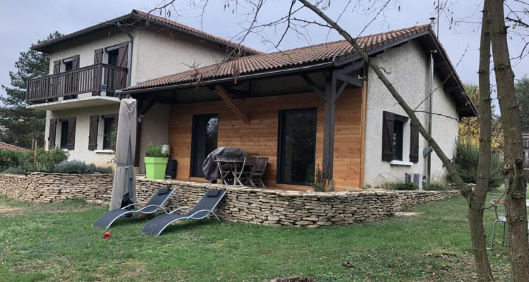 Maison 152m² sur 1732m² de terrain - Jassans-Riottier (01480)