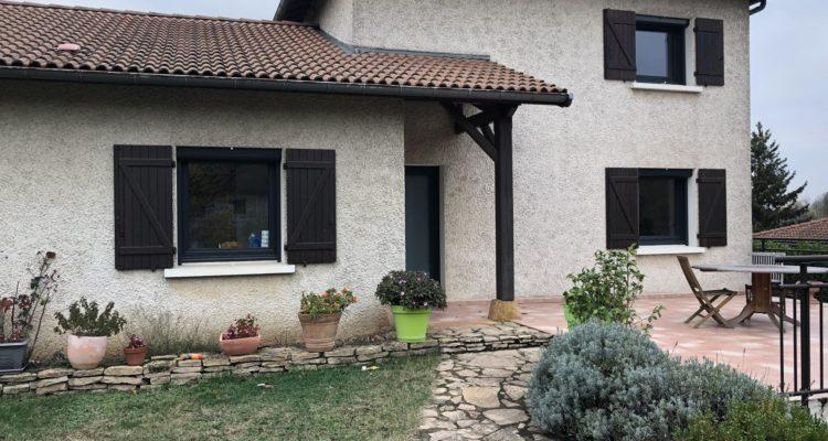 Maison 152m² sur 1732m² de terrain - Jassans-Riottier (01480) - 16