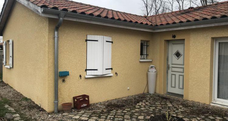 Maison 108m² sur 552m² de terrain - Peyzieux-sur-Saône (01140) - 1