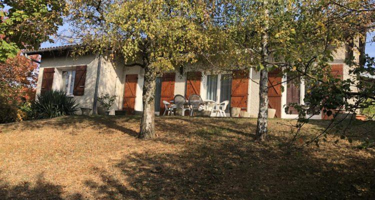 Maison 115m² sur 888m² de terrain - Montmerle-sur-Saône (01090)