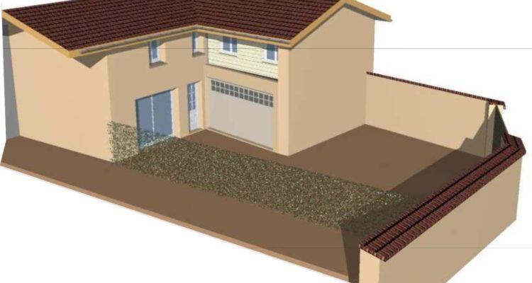 Maison 120m² sur 220m² de terrain - Fareins (01480)
