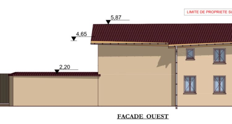 Maison 120m² sur 220m² de terrain - Fareins (01480) - 5