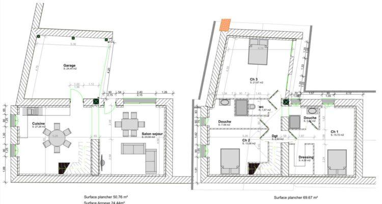 Maison 120m² sur 220m² de terrain - Fareins (01480) - 8