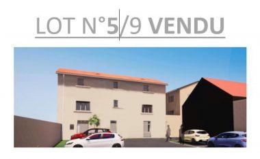 Vente T2 50 m² à Cailloux-sur-Fontaines 132 000 € - 1