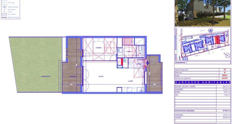 Vente T2 47 m² à Sainte-Foy-Lès-Lyon 275 000 € - Sainte-Foy-Lès-Lyon (69110) - 1