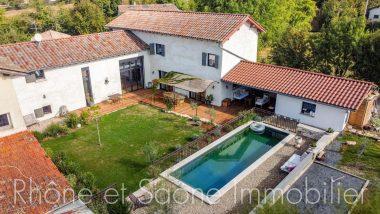 Vente Maison 260 m² à Fareins 739 000 € - 1