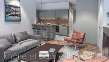 Vente T4 86 m² à Lyon-5eme-Arrondissement 645 000 € - 1